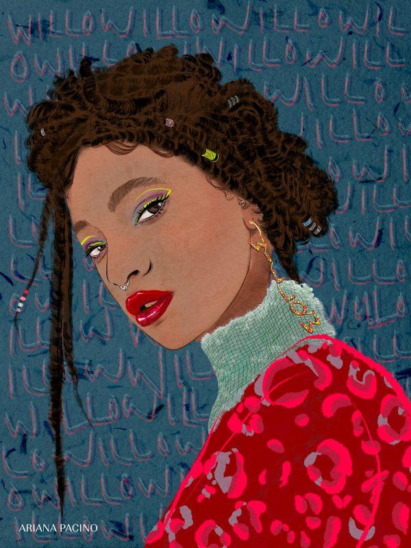 Willow Smith Portrait by Ariana Pacino