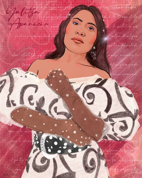 Yalitza Aparicio by Ariana Pacino print