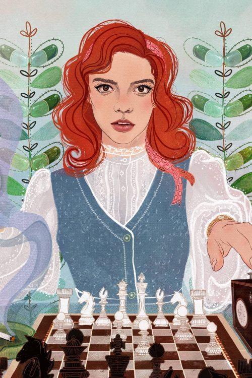 Queen's Gambit Illustration