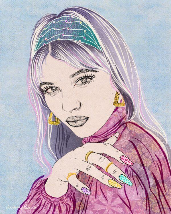 Devon Illustration Ariana Pacino web