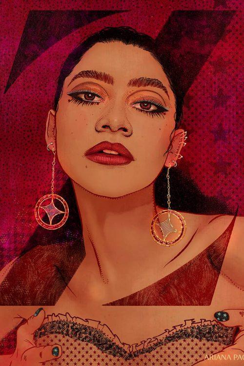 Zendaya Illustration