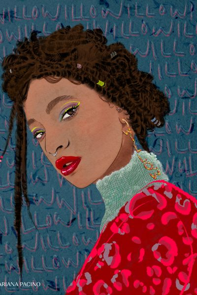 Willow Smith Portrait by Ariana Pacino